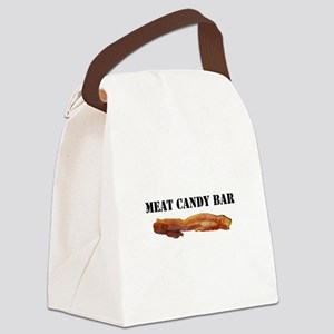 Meat candy bar Canvas Lunch Bag