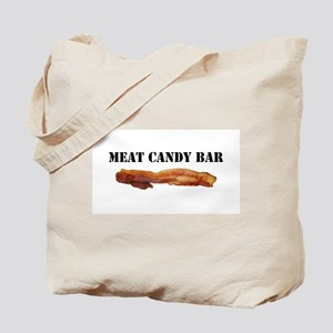 Meat candy bar Tote Bag