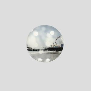 Grey Sparkling Pier Mini Button
