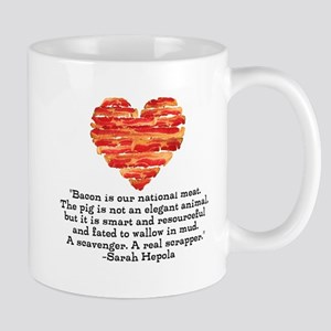 Sarah Hepola Quote about Bacon Mugs