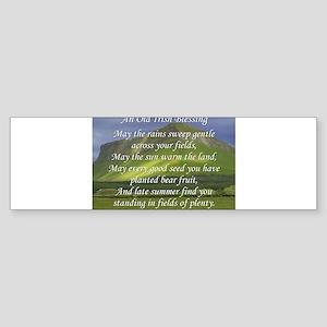 Old Irish Blessing #5 Bumper Sticker