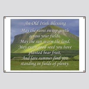Old Irish Blessing #5 Banner