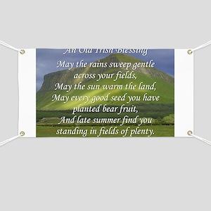 Old Irish Blessing #5 Banner