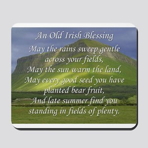 Old Irish Blessing #5 Mousepad