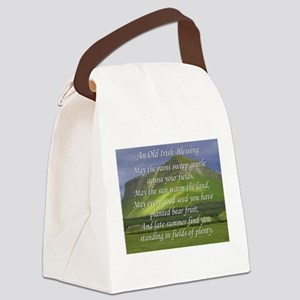 Old Irish Blessing #5 Canvas Lunch Bag
