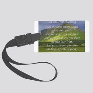 Old Irish Blessing #5 Luggage Tag