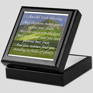 Old Irish Blessing #5 Keepsake Box