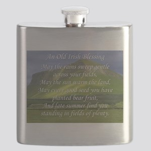 Old Irish Blessing #5 Flask