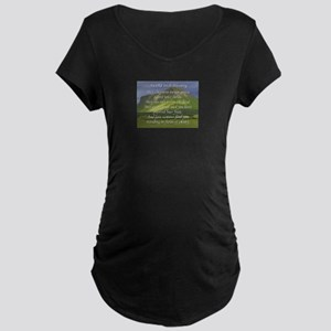 Old Irish Blessing #5 Maternity T-Shirt