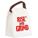 Rise And Grind Canvas Lunch Bag