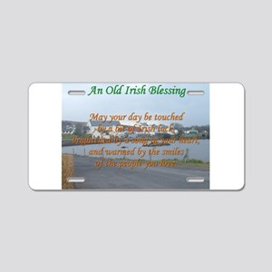 Old Irish Blessing #4 Aluminum License Plate