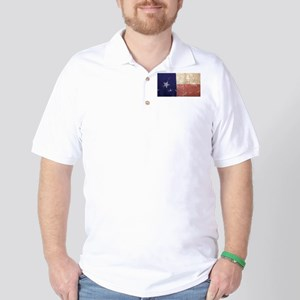 Texas State Flag Golf Shirt