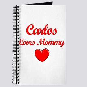 Carlos Loves Mommy Journal