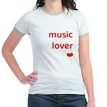 Music Lover   Women's Ringer