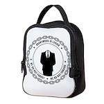 anonymoussealwithchain Neoprene Lunch Bag