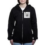 anonymoussealwithchain Women's Zip Hoodie
