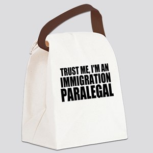 Trust Me, I'm A Immigration Paralegal Canvas L