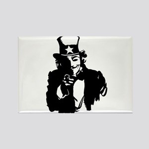 Guy Fawkes as Uncle Sam Magnets