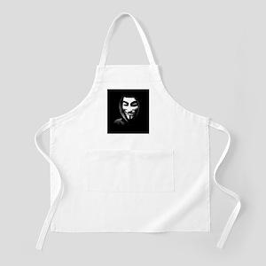 Guy Fawkes in a Sweatshirt Apron