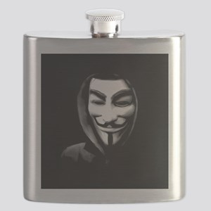 Guy Fawkes in a Sweatshirt Flask