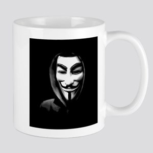 Guy Fawkes in a Sweatshirt Mugs