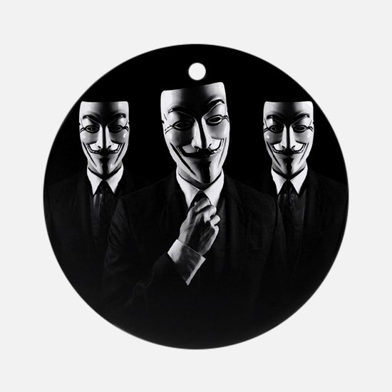 We are anonymous Ornament (Round)