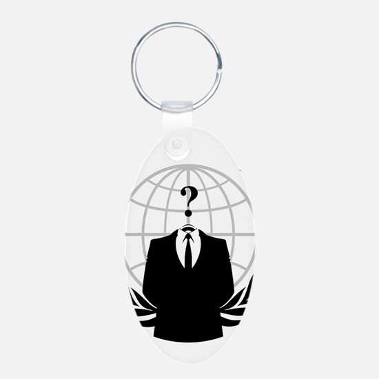 Anonymous Seal Keychains