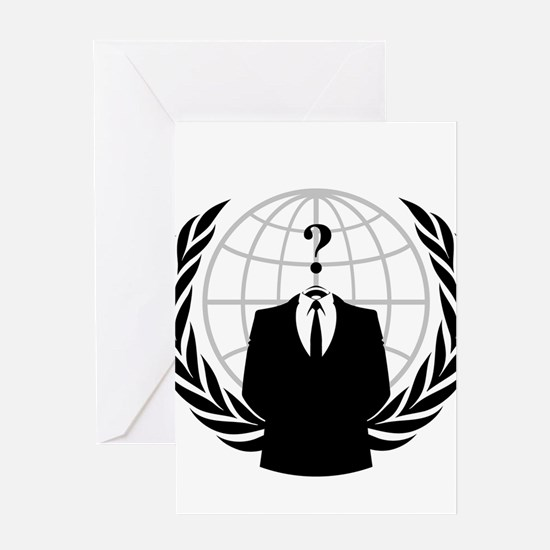 Anonymous Seal Greeting Cards