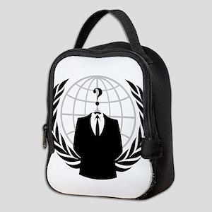 Anonymous Seal Neoprene Lunch Bag