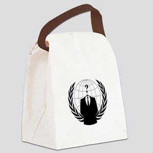 Anonymous Seal Canvas Lunch Bag