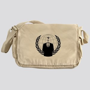 Anonymous Seal Messenger Bag