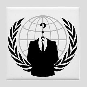 Anonymous Seal Tile Coaster