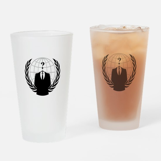 Anonymous Seal Drinking Glass