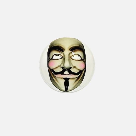 Guy Fawkes Mask Mini Button
