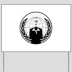AnonyMissSeal Yard Sign