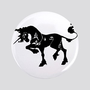 "Filigree Unicorn 3.5"" Button"