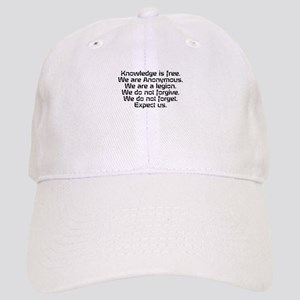 Knowledge is free.1 Baseball Cap