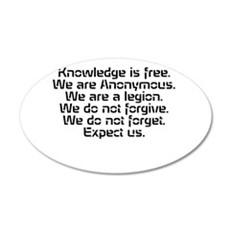 Knowledge is free.1 Wall Decal