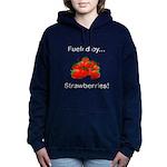 Fueled by Strawberries Women's Hooded Sweatshirt