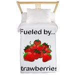 Fueled by Strawberries Twin Duvet