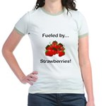 Fueled by Strawberries Jr. Ringer T-Shirt