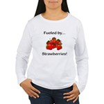 Fueled by Strawberries Women's Long Sleeve T-Shirt