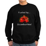 Fueled by Strawberries Sweatshirt (dark)