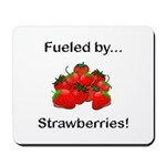 Fueled by Strawberries Mousepad