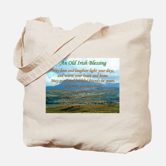 Old Irish Blessing #2 Tote Bag