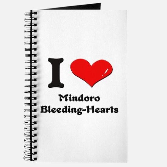 I love mindoro bleeding-hearts Journal