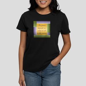 Ghandi quote Women's Dark T-Shirt