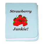 Strawberry Junkie baby blanket