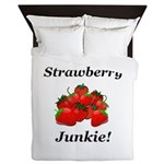 Strawberry Junkie Queen Duvet