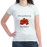 Strawberry Junkie Jr. Ringer T-Shirt